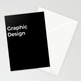 Graphic Design Stationery Cards