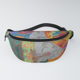 A Good Witch from The Rainbow Coral River Forest in Another World Fanny Pack