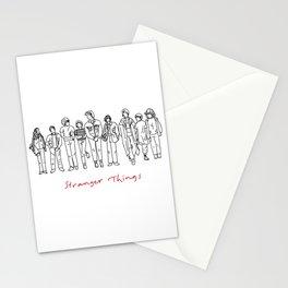 Friends Don't Lie (Black) Stationery Cards