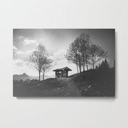 Anderswelt Haus Metal Print