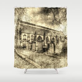 Greyfriars Kirk Edinburgh Vintage Shower Curtain