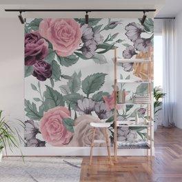 FLOWERS VIII Wall Mural
