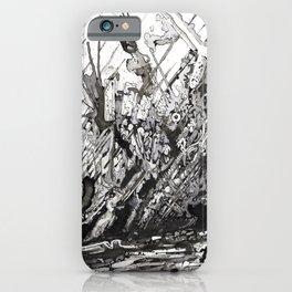 diagonal boom iPhone Case