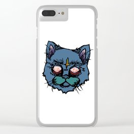 Catatonic Clear iPhone Case