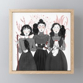 Three Sisters Framed Mini Art Print