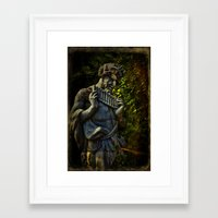 pagan Framed Art Prints featuring Pagan Pan by Chris Lord