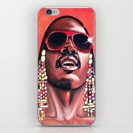 Stevie Wonder iPhone Skin