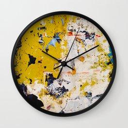 PALIMPSEST, No. 17 Wall Clock