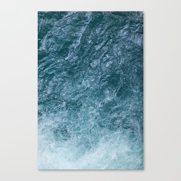 Mountain Waters II Vertical (Norway) Canvas Print