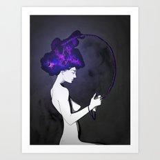 Mind Games  Art Print
