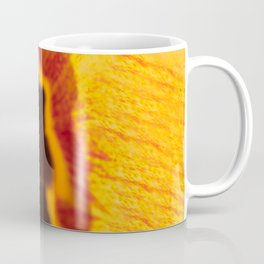 Yellow and Orange Tulip Photography Print Coffee Mug