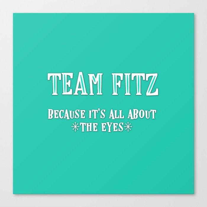 Team Fitz Leinwanddruck
