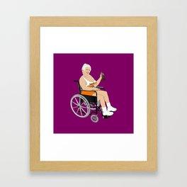 MILF Framed Art Print