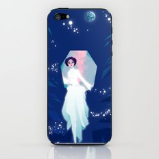 Forever one with the Force iPhone & iPod Skin