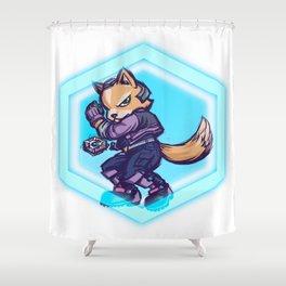 You're gonna get Fox'd! Shower Curtain