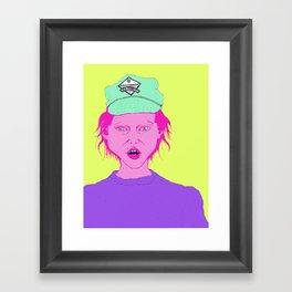 new orleans cap Framed Art Print