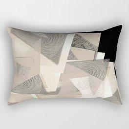 Raw shapes Rectangular Pillow