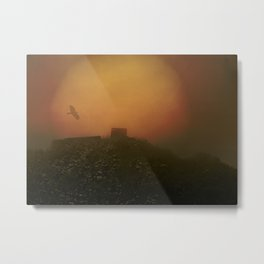 Mystical and misty Metal Print