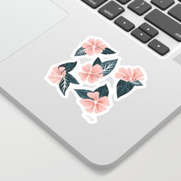 Mountain Wild Flowers – Blush & Sage Sticker