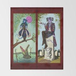 Diaster Tieflings Throw Blanket