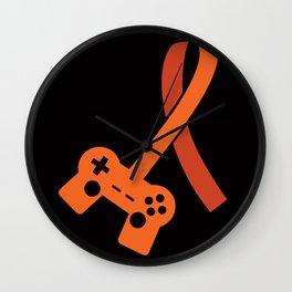 Awareness for a Gamer Wall Clock