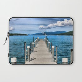 Stepping to the Sea Laptop Sleeve