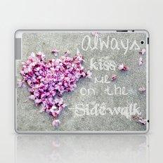Kisses On The Sidewalk Laptop & iPad Skin