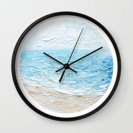 Carolina Blues Wall Clock