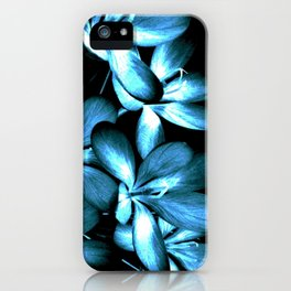 Wildflowers In The Night Light iPhone Case