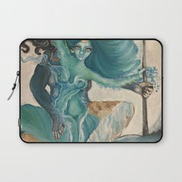 lord shiva and parvati Laptop Sleeve