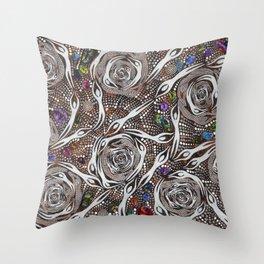 Her_Opal_Spirits#2–GeoffSellman Throw Pillow