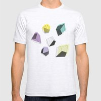 Play  MEDIUM Ash Grey Mens Fitted Tee