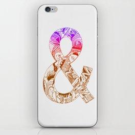 '&' iPhone Skin