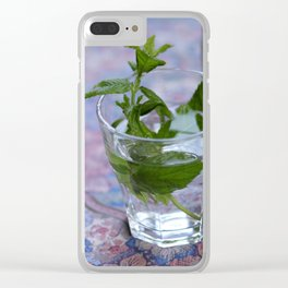 Refreshing - JUSTART © Clear iPhone Case