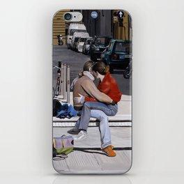 Lovers in Santa Croce iPhone Skin