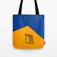 swedish Tote Bags featuring Swedish by Georgios Karamanis