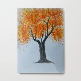 Autumn splash Metal Print