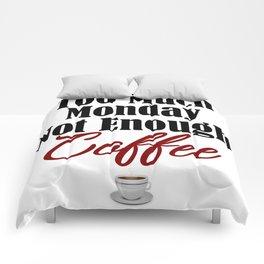 Funny Monday Sucks Need Coffee Job Work Boss Weekend Comforters