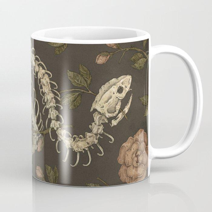 Snake Skeleton Coffee Mug