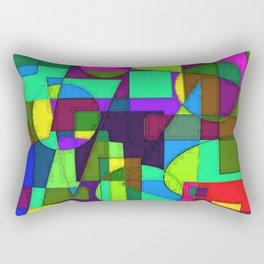 Abstract 4b Rectangular Pillow