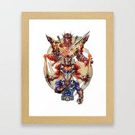 Hit the Beat Framed Art Print