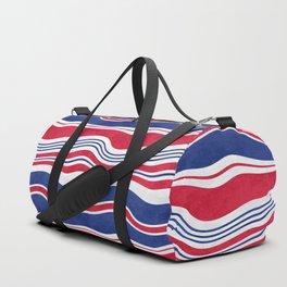 Horizontal wavy stripes.3 Duffle Bag