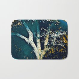 Night Tree Bath Mat