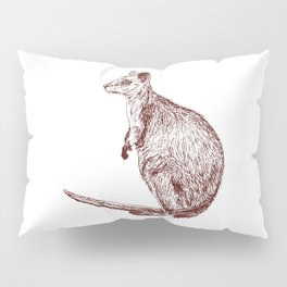 Swamp Wallaby Pillow Sham