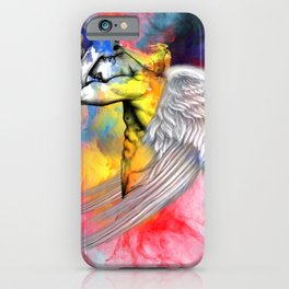 angel male nude iPhone Case