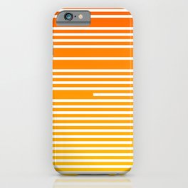 Abstract Geometric Summer With Lines iPhone Case