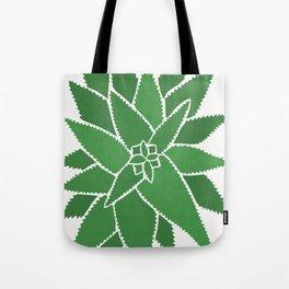 Watercolor of cacti XIV Tote Bag