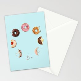 Donut Phases Stationery Cards
