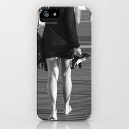 High heels at the beach. iPhone Case