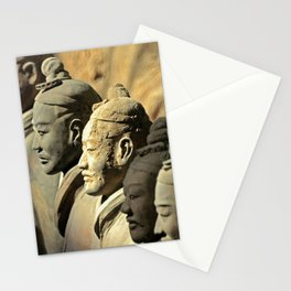 Chinese Terracotta Warriors Stationery Cards